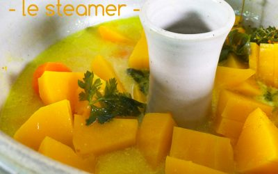 Cuisson douce vapeur avec le steamer (yunnan pot)