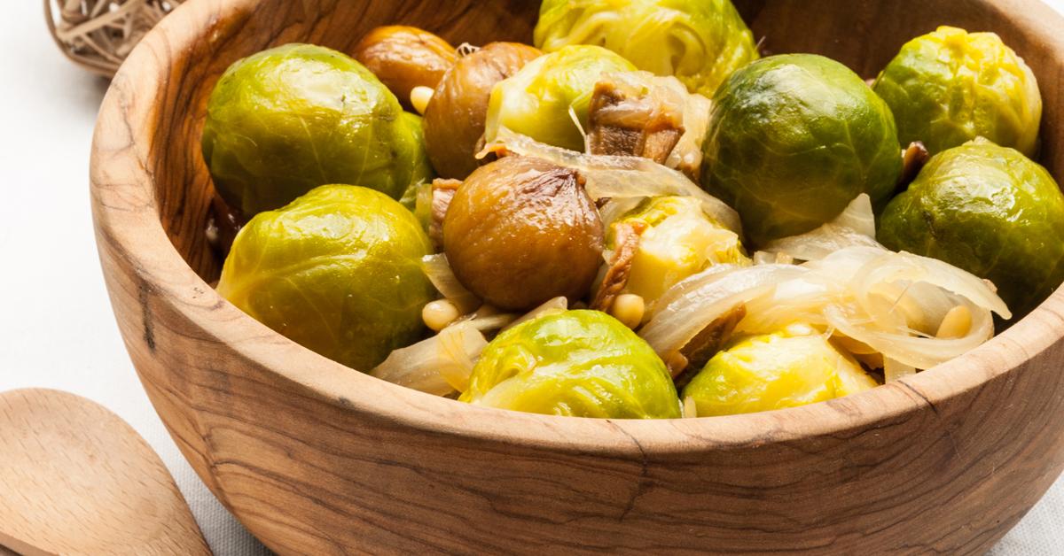 Po l e de choux de bruxelles et ch taignes recette pal o - Cuisine saine et gourmande ...