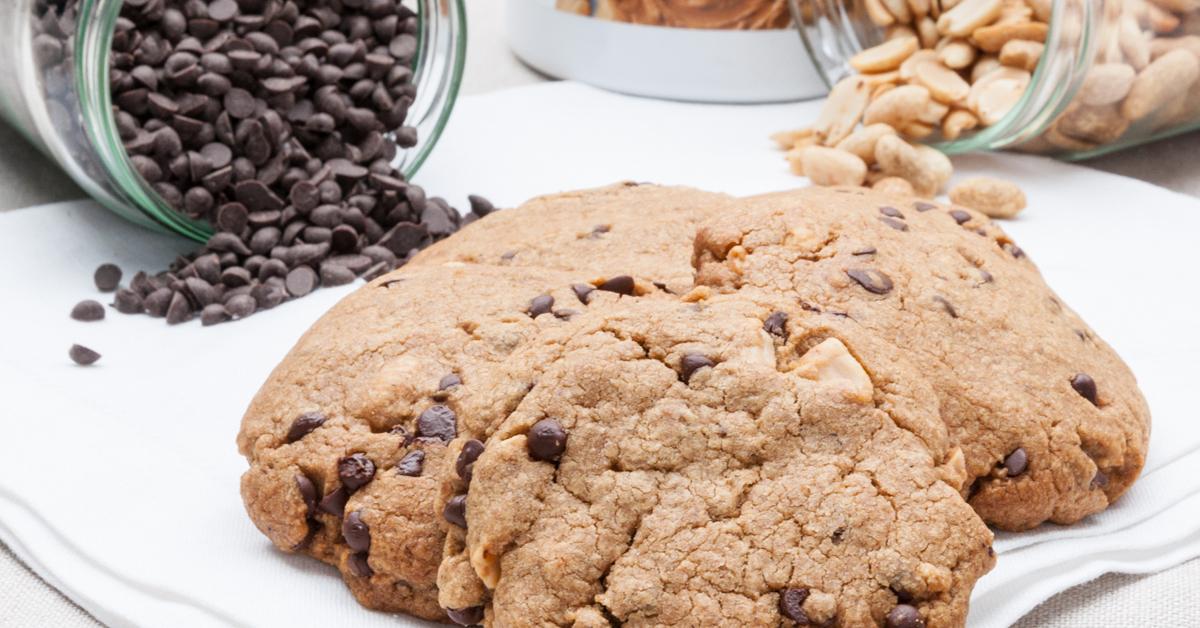 Cookies sans gluten sans plv cacahu te et chocolat - Livre de cuisine sans gluten ...