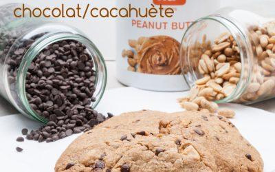 Cookies sans gluten sans PLV cacahuète et chocolat