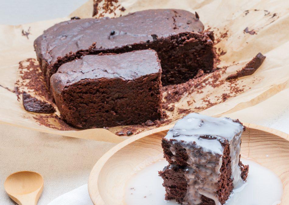Gâteau paléo ultra cacao (sans gluten, sans lactose)