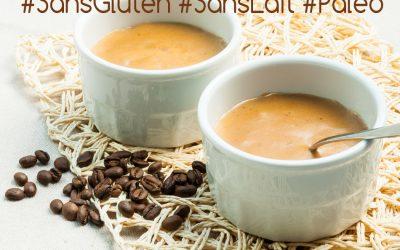 Crème au café façon Danette – sans gluten, sans lait et paléo – Vegan