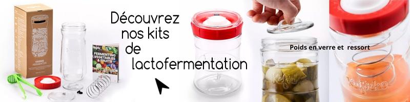 Kit bocal lacto-fermentation
