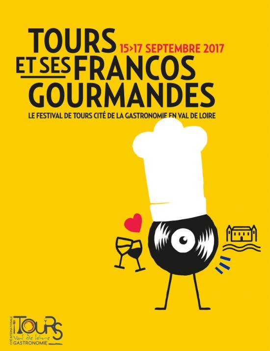 Dédicace à Tours au salon du Livre Gastronomique le samedi 16 septembre