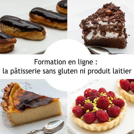 La pâtisserie sans gluten ni lactose
