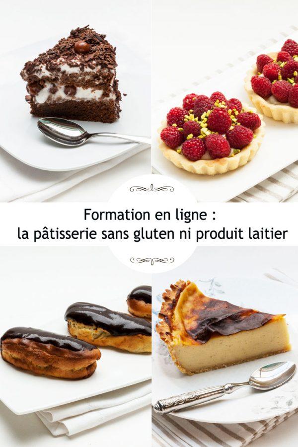 Patisserie sans gluten ni lait pint blog cuisine saine - Formation de cuisine gratuite ...