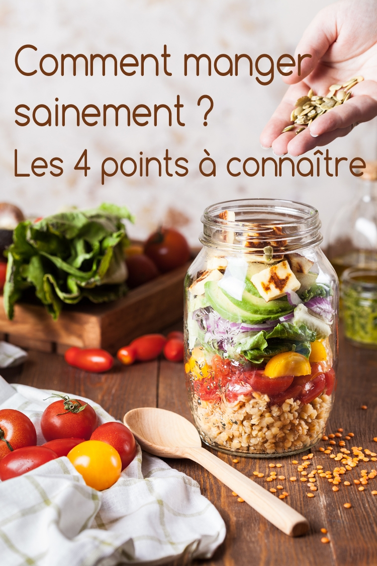 si je continue à manger sainement