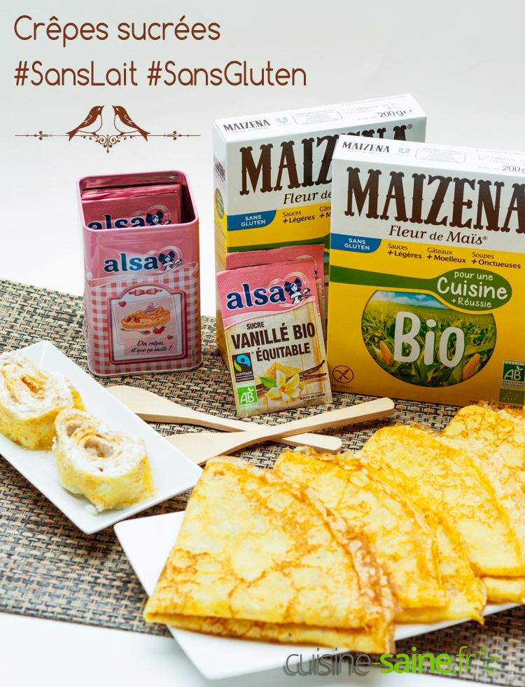 Comment faire des cr pes sucr es sans gluten ni lactose - Comment faire les crepes ...