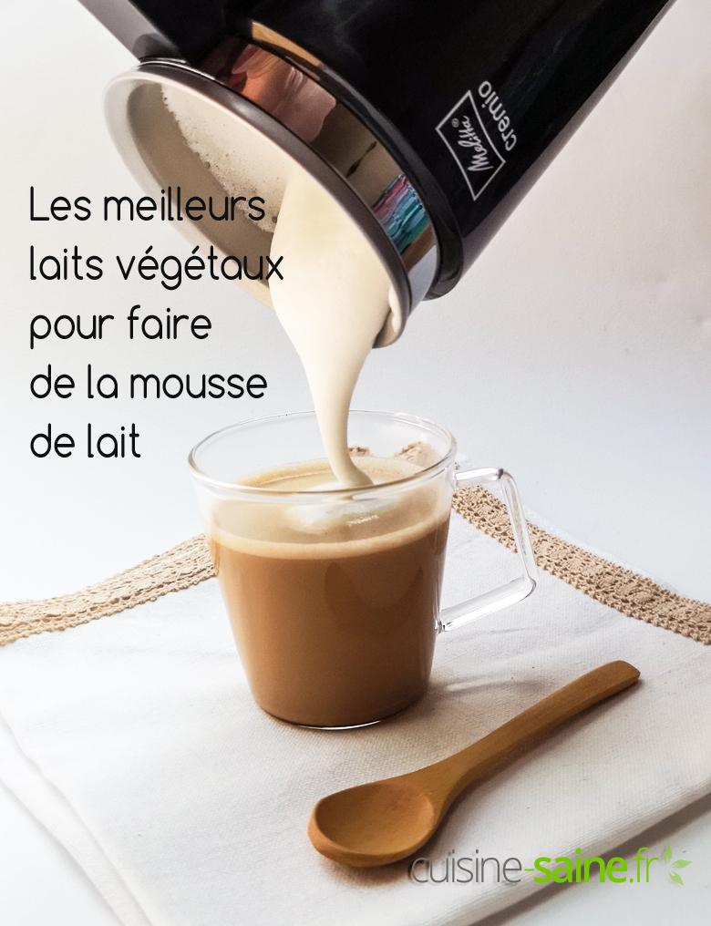 Café Noisette C Est Quoi comment faire de la mousse de lait végétal ? quelle
