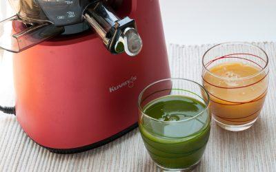 3 recettes de jus de légumes à l'extracteur de jus (détox, digestif, peau et yeux)