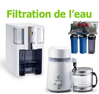 filtration de l'eau