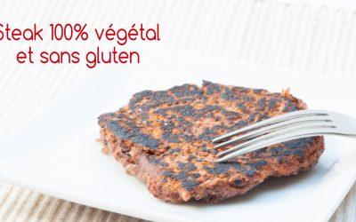 Le steak végétal, recette 100% végétale et sans gluten