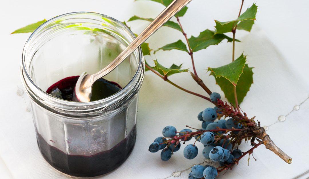 Recette de confiture ou gelée de mahonia