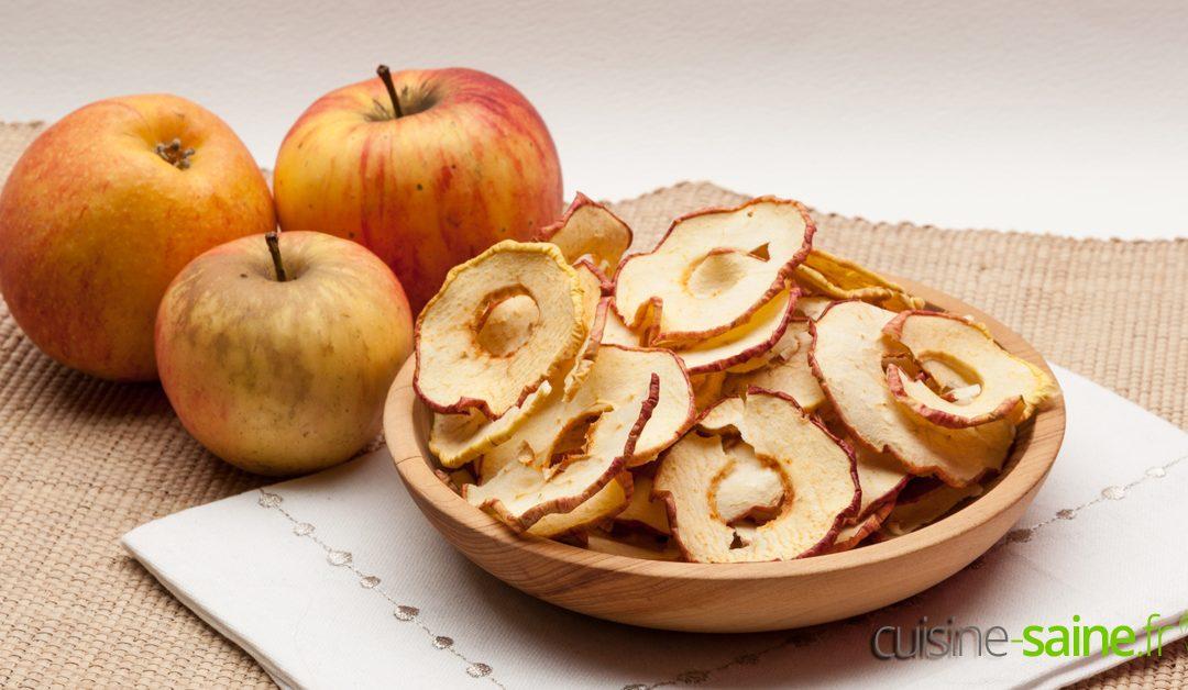 Comment faire des chips de pomme au déshydrateur ?