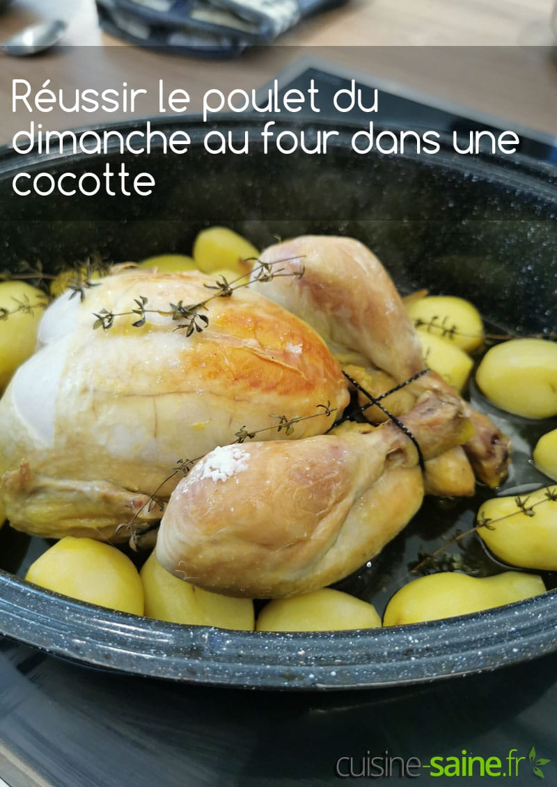 Recette de poulet rôti aux pommes de terre au roaster