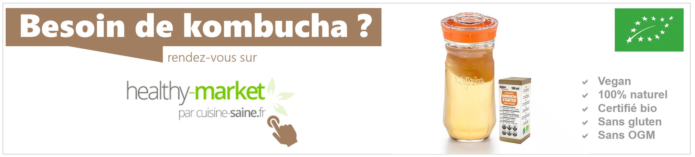 Trouver une souche de kombucha