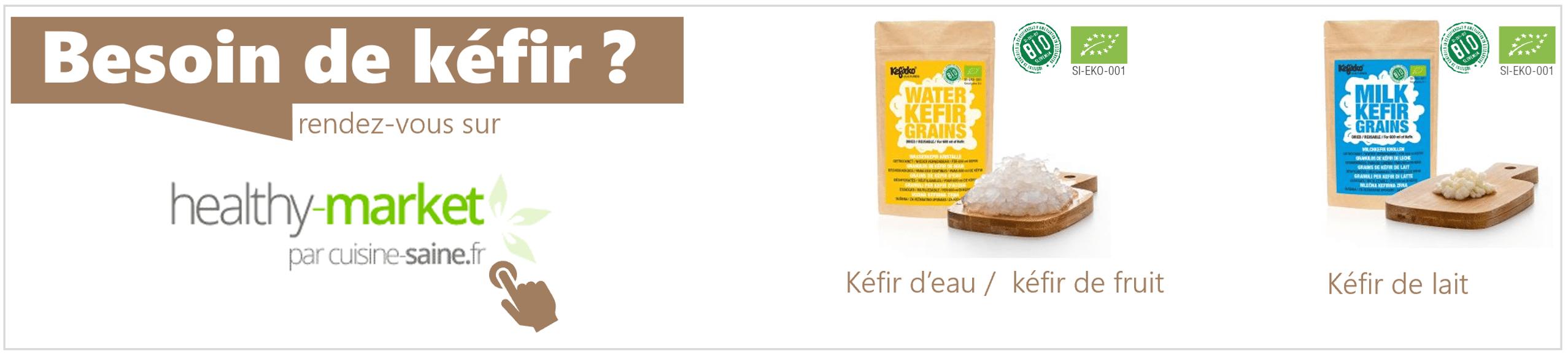 Acheter des grains de K�fir d'eau et de lait