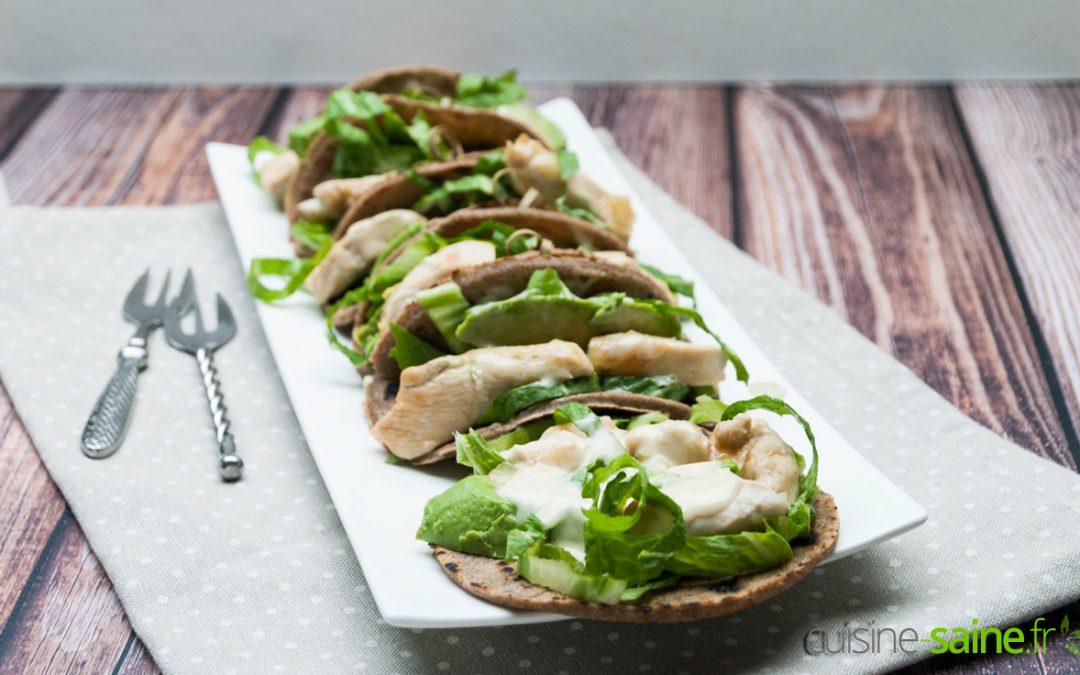 Recette de tacos sans gluten sans lactose