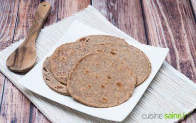 Recette de tortillas au maïs sans gluten