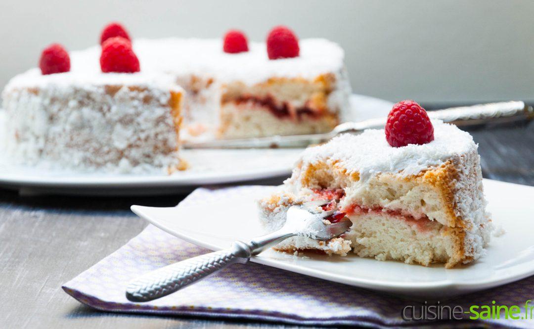 Recette d'Angel cake (ou gâteau des anges) sans gluten ni lactose