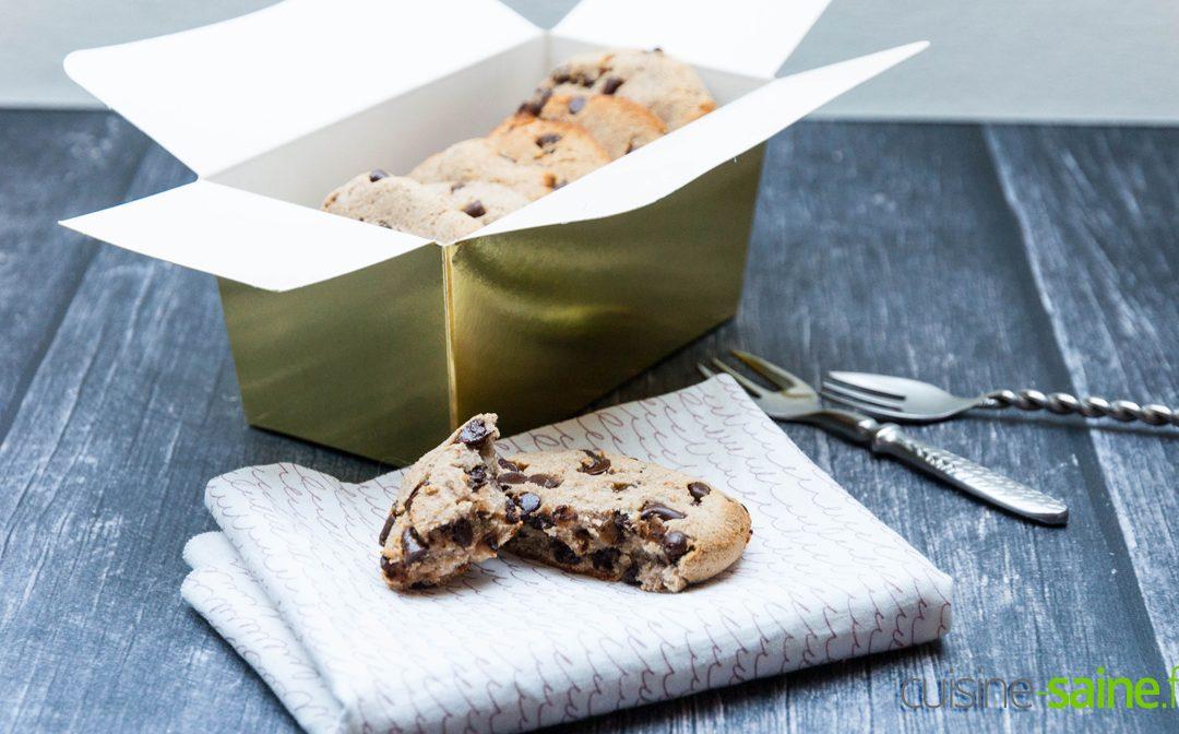 Recette de cookies healthy sans gluten sans lactose paléo et vegan