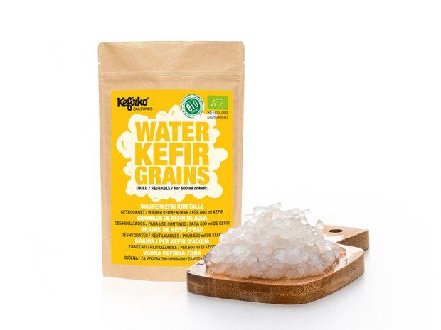 Voir grains de kéfir d'eau ou de fruits déshydratés sur Healthy Market, la marketplace par Cuisine Saine