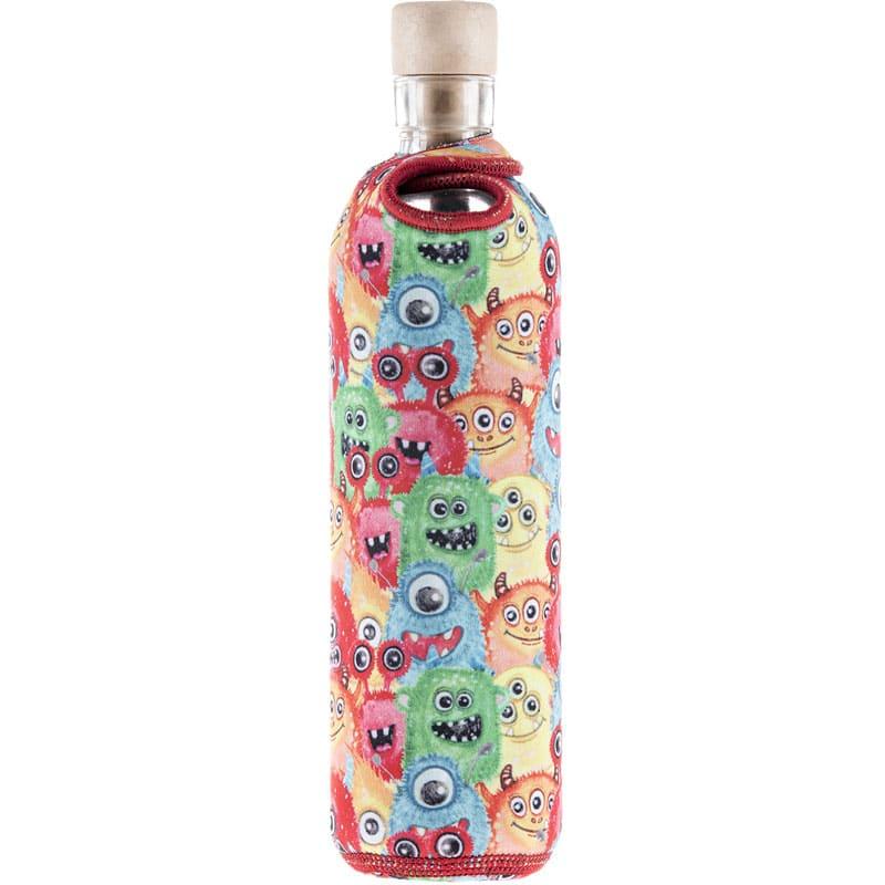 Avec sa contenance de 300 mL  et ses housses de protection en silicone ou néoprène, la gourde dynamisante constitue une solution économique (25€) pour permettre aux enfants de boire une eau dynamisée à l'école ou pendant le sport.